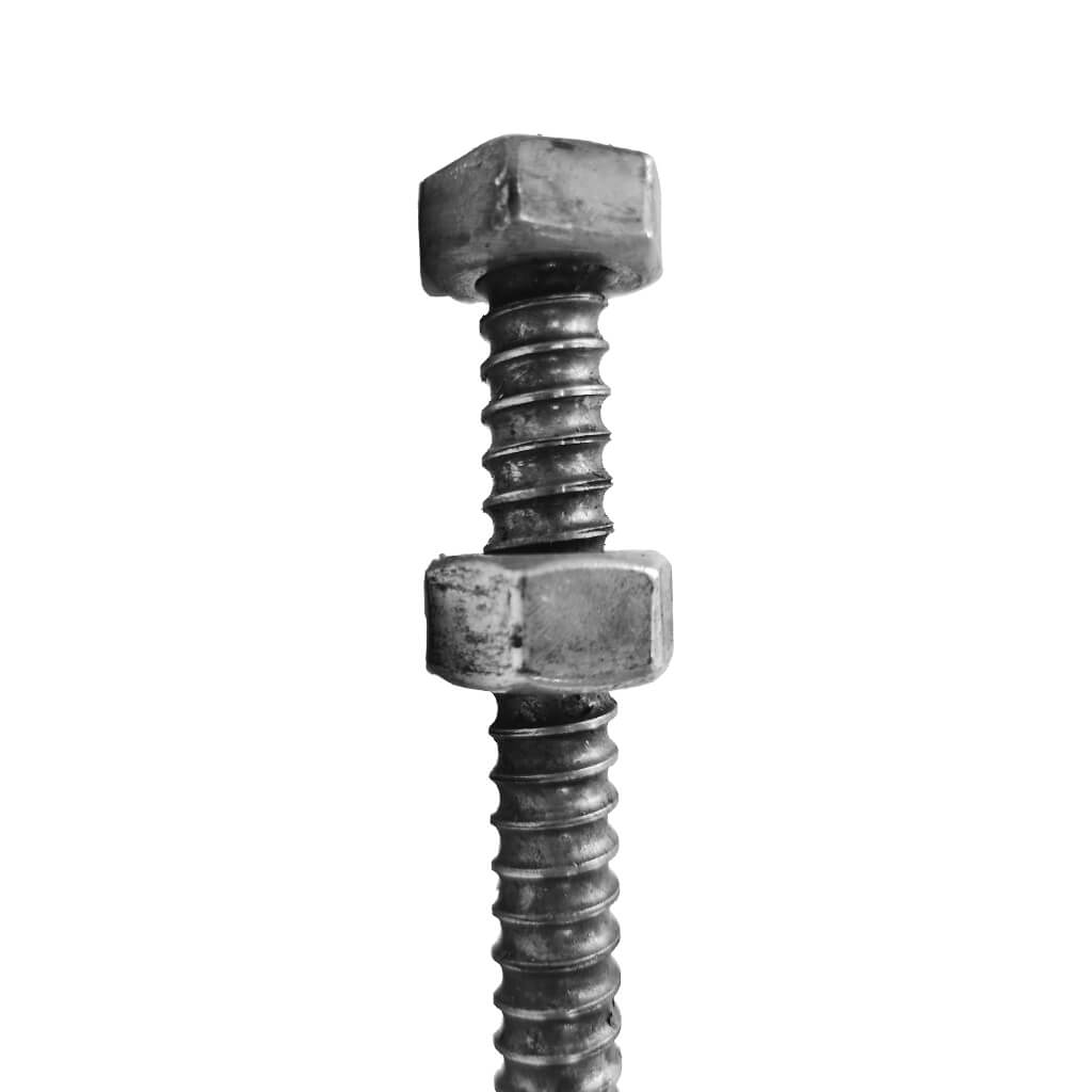 SureBuilt SBCRB3424WN 3/4 In. X 24 In. Adjustable Coil Bolt With Running Nut (10-Pack)