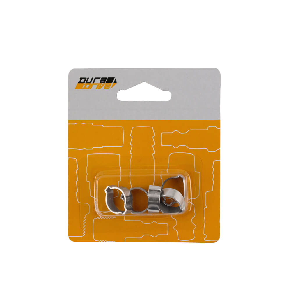 DuraDrive S-002 1/4 in. Two-Ear Air Hose Clamps (5-Pack)