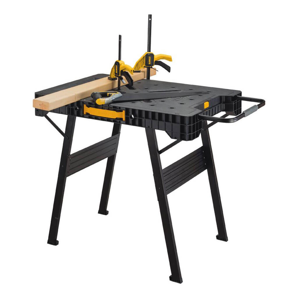 Portable Garage Hardware : Dewalt dwst in folding portable workbench