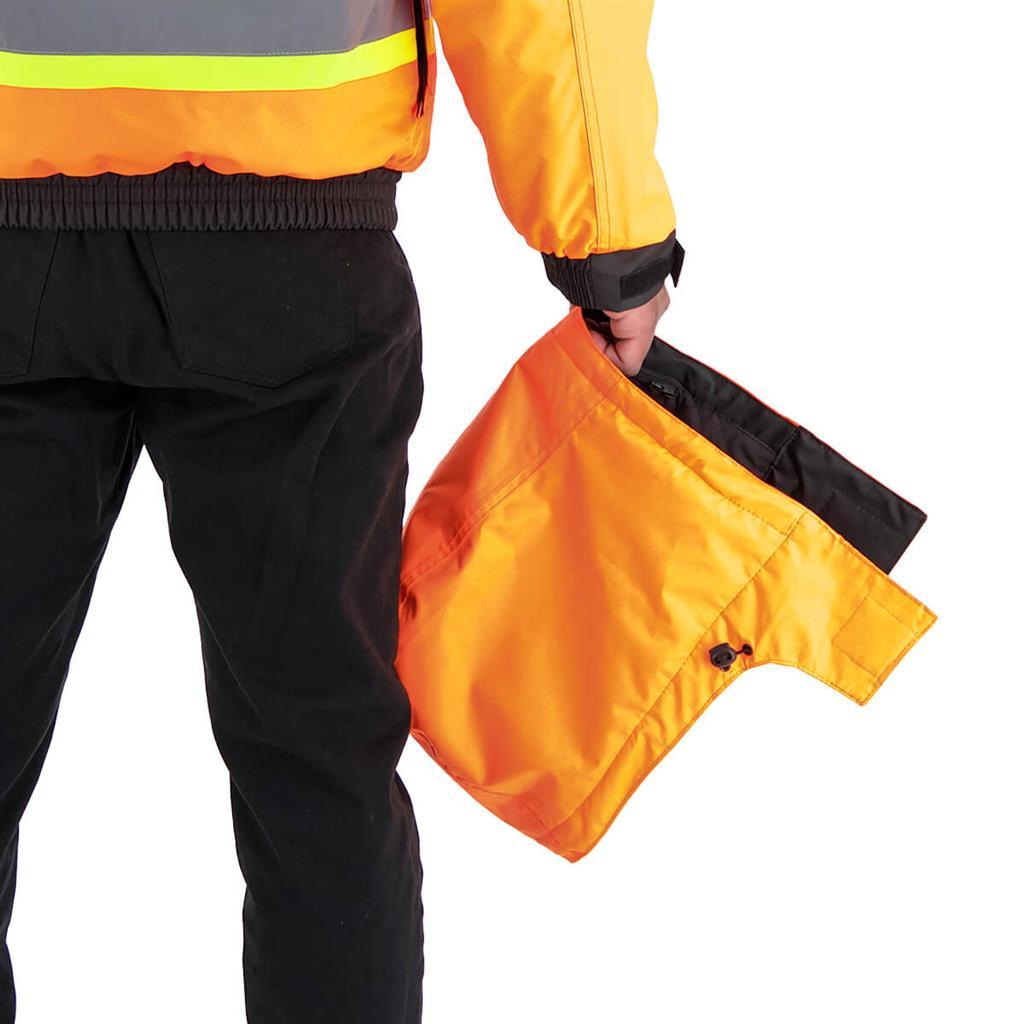 DuraDrive Basic 6-in-1 Orange Hi-Vis Insulated Safety