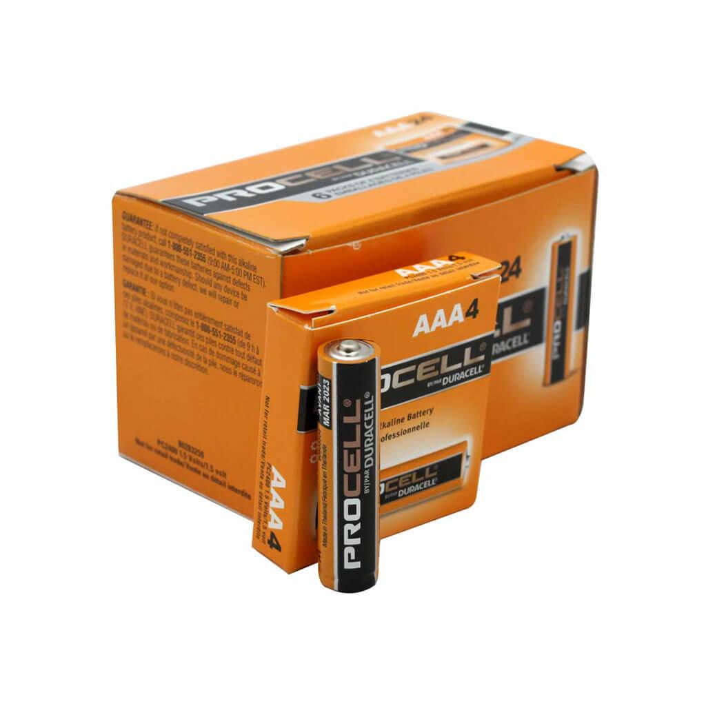 Duracell PC2400 Procell 1.5-Volt Alkaline Button Top AAA