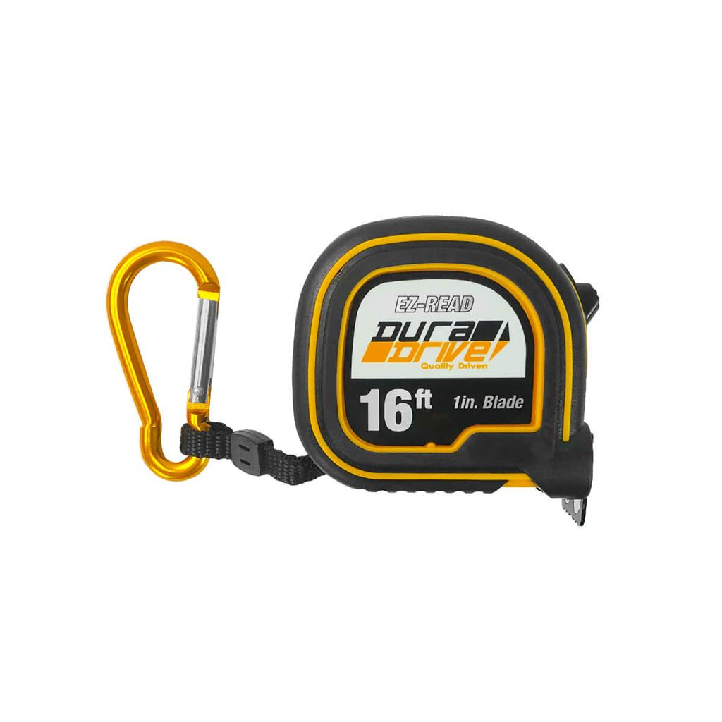 DuraDrive 16 ft. Imperial EZ-Read Magnetic Double Side Dual Hook Tape Measure