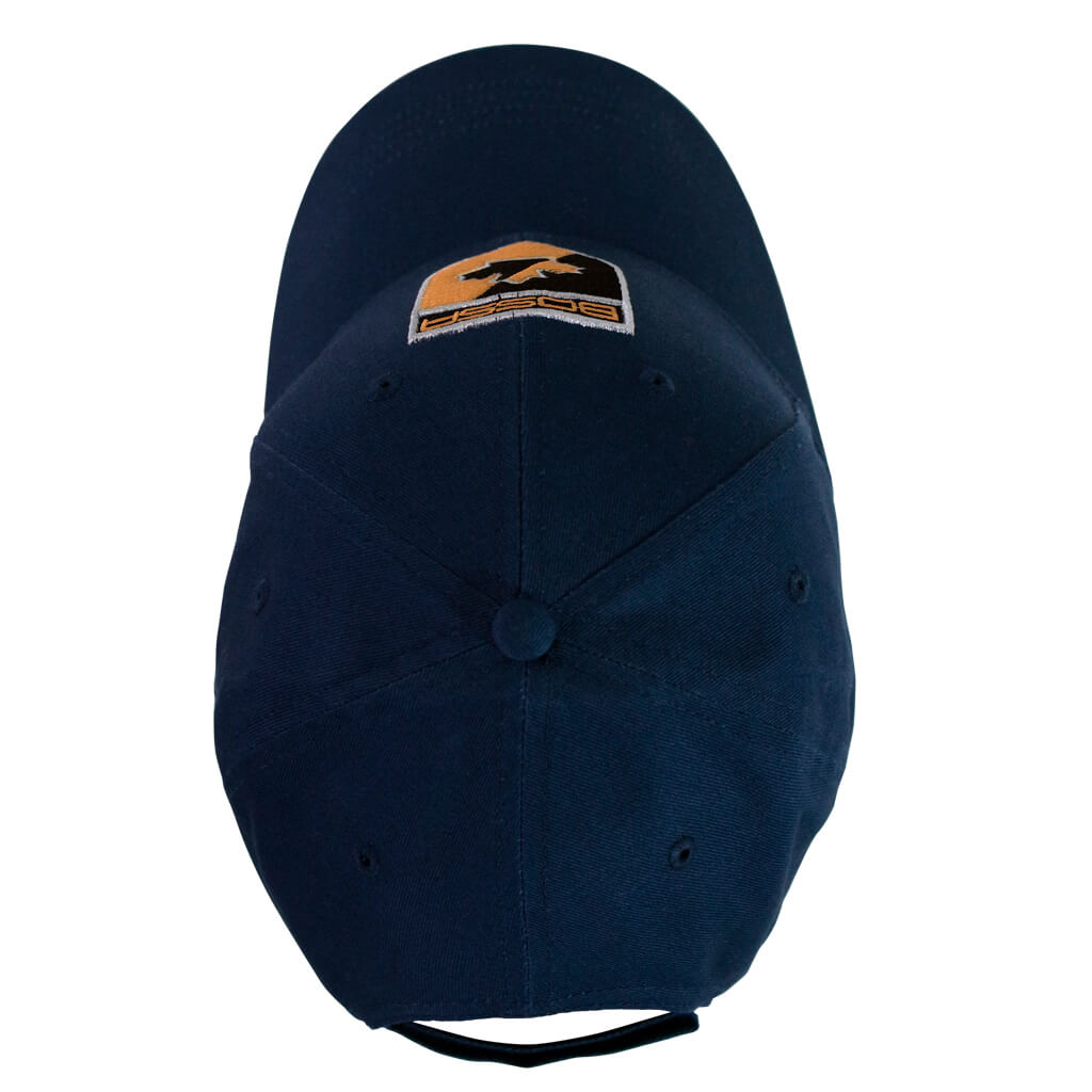 Bossa 28785 Navy One Size Baseball Cap with Adjustable Closure