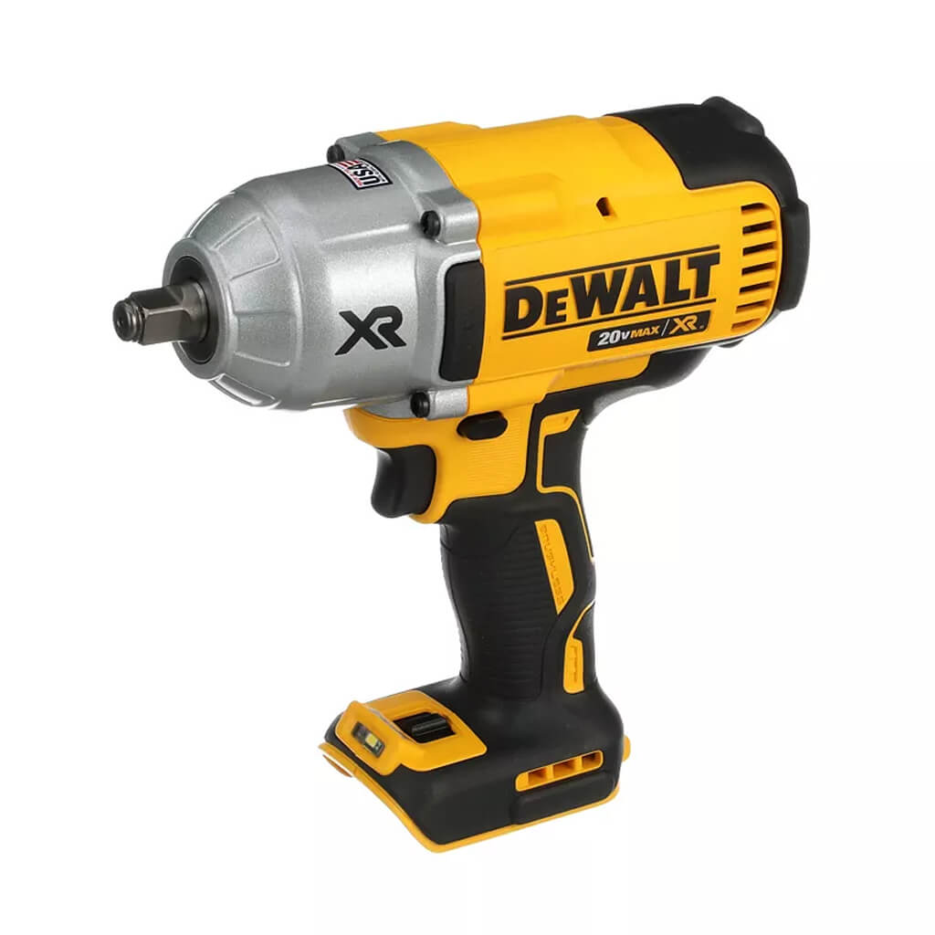DEWALT DCF899HB 20-Volt MAX XR Lithium-Ion 1/2 in. Cordless Brushless High-Torque Impact Wrench with Hog Ring Anvil (Tool Only)