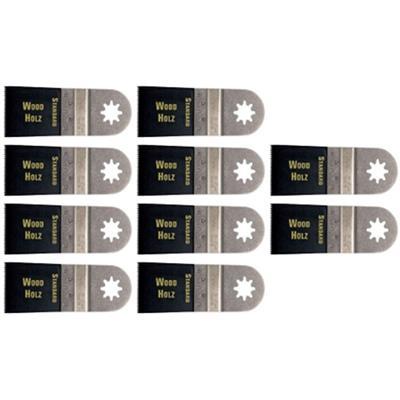 Fein STARLOCK 1-3/8 in  Standard E-Cut Blade Flush Cutting (10-Pack)