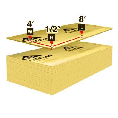 4 Ft X 8 Ft X 1 2 In Densglass Gold Exterior Sheathing