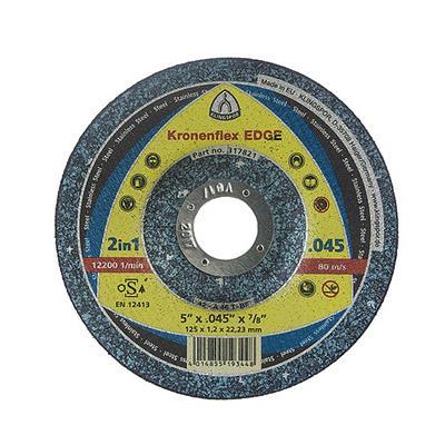Klingspor 322181/960/TZ disque /à tron/çonner 125/x 1/x 22/23/mm droites Capacit/é 25