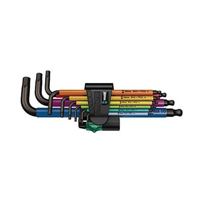 Red 6mm Wera 950 SPKL L-Key Hex Wrench