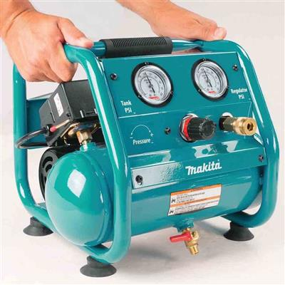 Makita AC001 1.0 HP 1-Gallon Ultra-Compact Electric Air Compressor