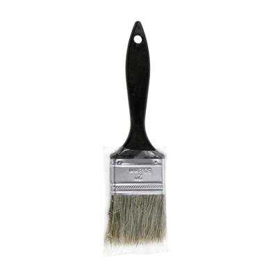 Crown Meakins 010120G 2 in. Economy Grey Bristle Straight Paint Brush