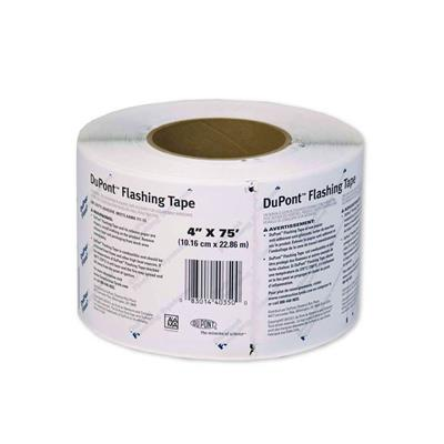 DuPont D15147389 4 in. x 75 ft. TYVEK Self-Adhesive Air and Vapor Barrier Membrane Flashing System Tape