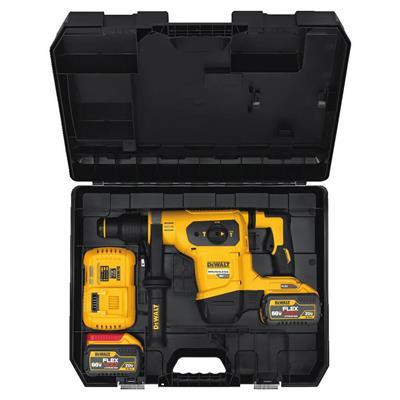 aa403d6f1ed DEWALT DCH481X2 FLEXVOLT 9.0 Ah 60-Volt SDS MAX Brushless Lithium-Ion 1-9 16  in. Cordless Combination Hammer Kit