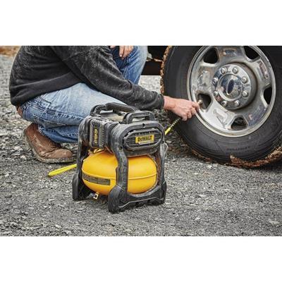 Dewalt Dcc2560t1 Flexvolt 60 Volt 2 5 Gallon Cordless Air