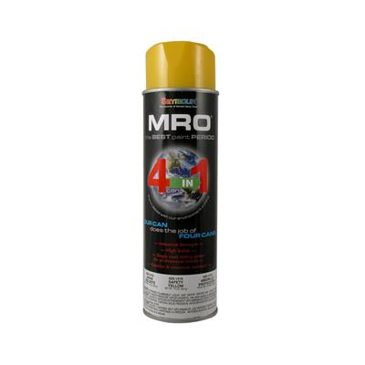 Seymour 620-1419 16 oz. Safety Yellow MRO Enamel High Solids Spray Paint