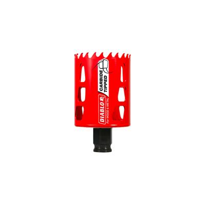 Freud Diablo DHS2000CT 2 in. x 2-3/8 in. Carbide-Tipped Mandrel Shank Wood and Metal Hole Saw