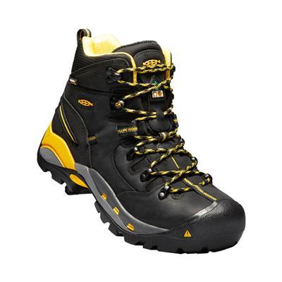 KEEN Men's CSA Hamilton Black Carbon Fiber Toe Waterproof ...
