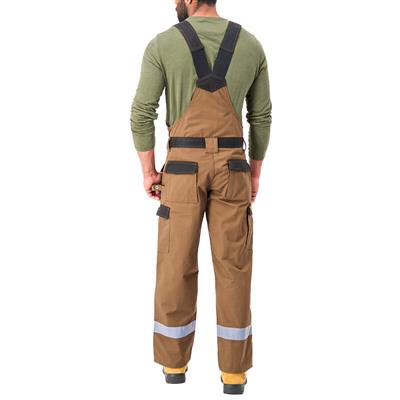 DuraDrive Men's TRADESMAN Timber Two Tone Overall with Hi-Vis Tape