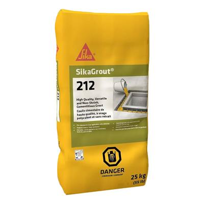 Sika 212 25kg Non-Shrink Grout Cement