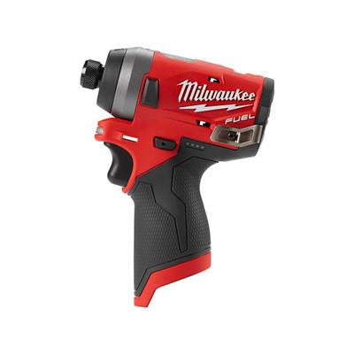 Milwaukee 2553-20 M12 FUEL 12-Volt Lithium-Ion 1/4 in. Brushless Hex Impact Driver (Tool Only)