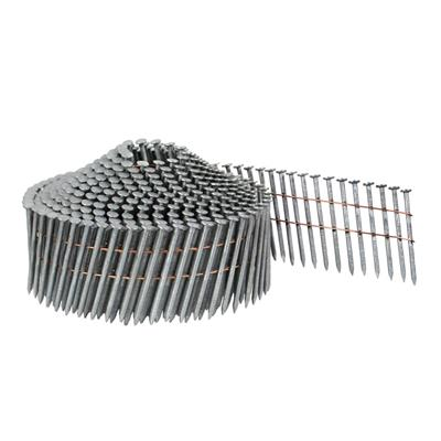 DuraDrive 1-3/4 in. x 0.083 Duradized Galvanized Ring Shank Conical Top Coil Framing Nails (9,020-Box)