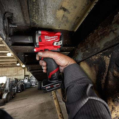 Milwaukee 2555-20 M12 FUEL 12-Volt Lithium-Ion 1/2 in. Brushless Stubby Impact Wrench (Tool Only)