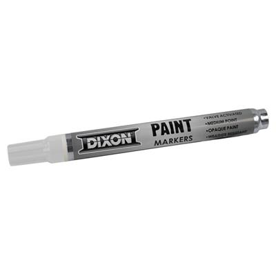 DIXON 80229 White Permanent Mark-All Paint Marker