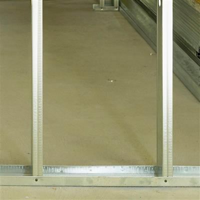 DuraDrive 2-1/2 in. x 10 ft. Metal Framing Track