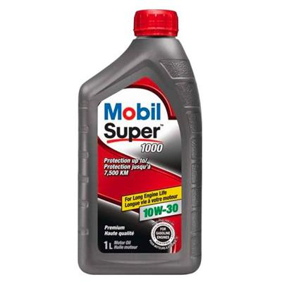 Mobil Super 1000 10W-30 1-Litre Synthetic Engine Oil